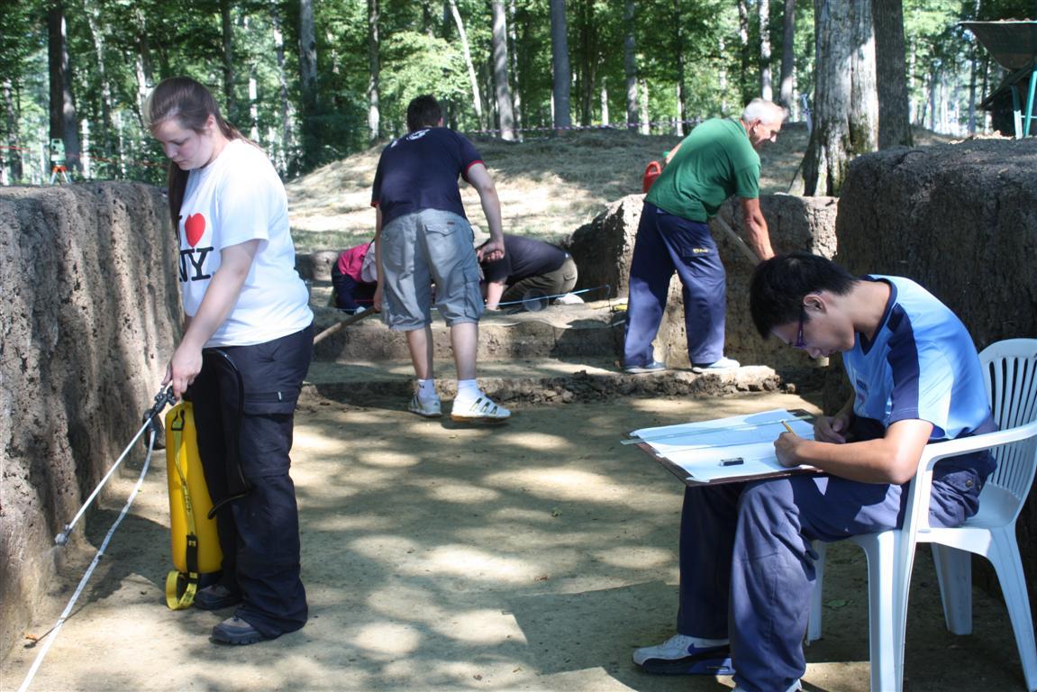 Arheoloski radovi na Puric-Ljubnju 2013