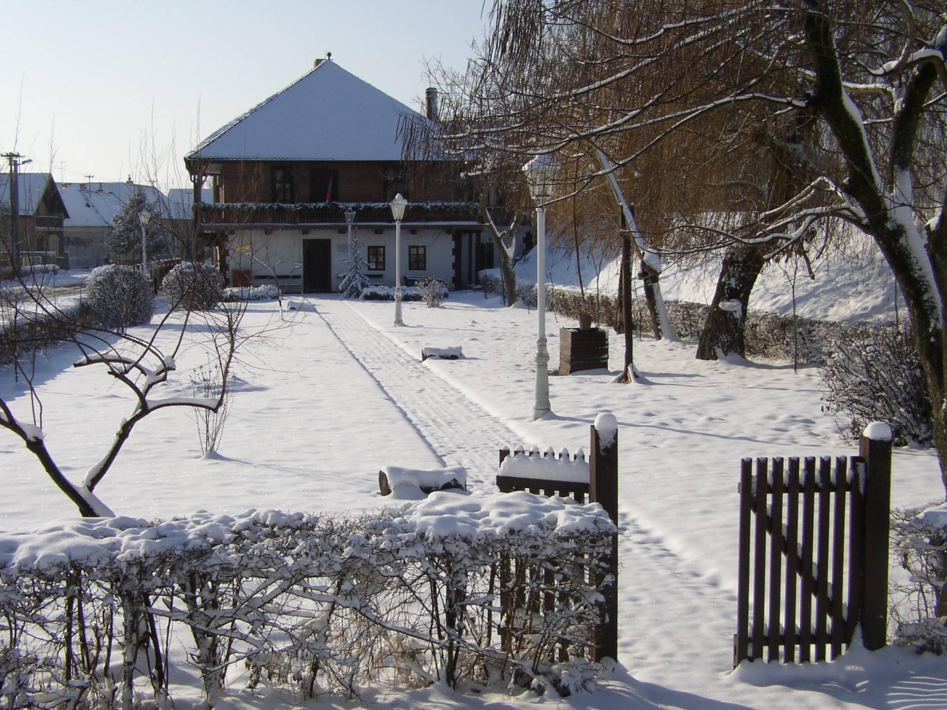 Muzejski park  zimi